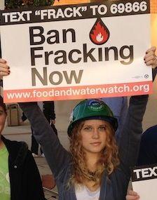 Ban Fracking Activist