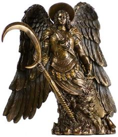 """Archangel St. Gabriel Statue 10"""""""