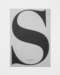 Playtype In Love With Typography 5 / 70x100 cm | Artilleriet | Inredning Göteborg