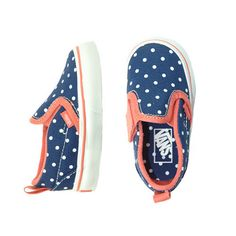 Vans Polka Dot Slip-On - mini mioche - organic infant clothing and kids clothes - made in Canada