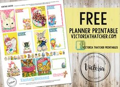 Free Printable. Victoria Thatcher