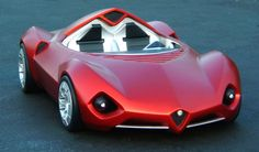 Giovanni Rizzo, a final-year student at the prestigious Art Centre in Pasdena, has presented his interpretation of a modern day Alfa Romeo 'Disco Volante'