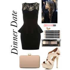 """""""Dinner Date #1"""" by lolipop132 on Polyvore"""