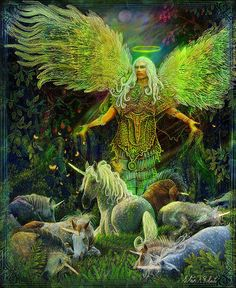 Archangel Raphael for Healing by Steve A. Roberts