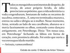 Grafados: Anton Tchecov - O Marido