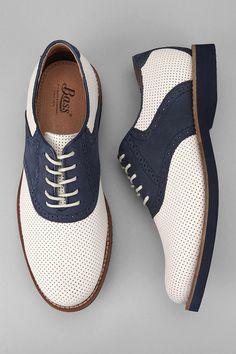 Boardwalk shoes: Bass Burlington Perf Shoe