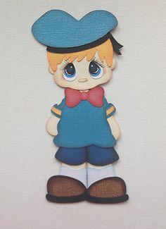 Premade Cartoon Donald Costume Kid Paper Piecing Disney by My Tear Bears Kira | eBay