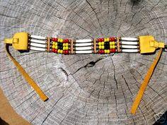 Native American Choker Buffalo Bone Hairpipe by Touchearth