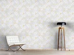 Design #Tapete Goldene Libellen