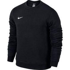 Nike - Sweatshirt Team Club Crew Sort Børn