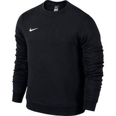 Nike - Sweatshirt Team Club Crew Sort Børn