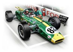 At last, an Indy win for LOTUS and Jim Clark in the LOTUS 38