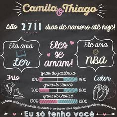 Noivado Lettering Tutorial, Blackboards, Chalkboard, Diy And Crafts, About Me Blog, Invitations, Gifts, Wedding, Baby
