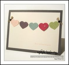 Stampin' Up! Fashionable Hearts embosslit