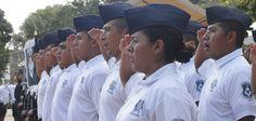 """Javier Duarte dijo que los hechos ilícitos en Medellín de Bravo requieren una respuesta con la mayor eficacia, y ahora que desapareció la Policía Municipal """"podremos garantizar la tranquilidad y convivencia armónica para los habitantes de este pueblo; lo haremos en el marco de la ley y de la justicia""""."""