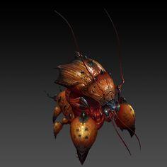 ArtStation - 红甲虫, 泽科 徐