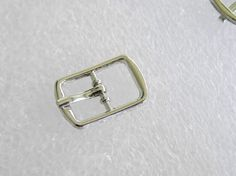 Small Buckles - Plain Rectangle Shape Silver Buckles 8mm straps - toys, dolls,  #Jaszitupleatheraccents