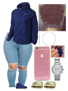 Viernes by amournyaa ❤ liked on Polyvore featuring NIKE and Michael Kors
