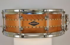 """Craviotto 5.5x14"""" Limited Birch/Spruce Stacked Snare Drum - USED"""