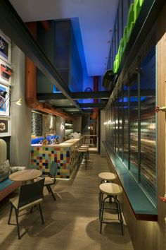 creating a narrow space cafe - Google Search
