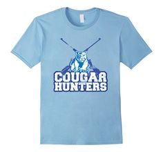 14891da96a Men's Cougar Hunters T-Shirt XL Baby Blue -- Awesome products selected by  Anna