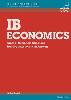 Ib economics paper 1 sample essay outlines