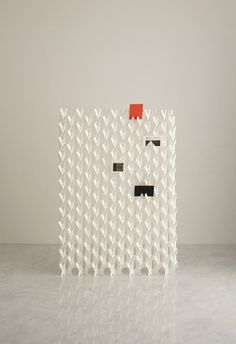 A Divider Screen Made of Paper Photo
