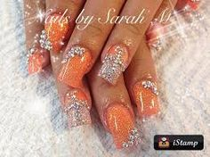 Image result for acrylic nails wedding designs