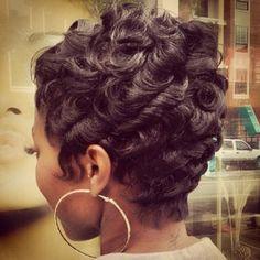 Najah Aziz @najahliketheriver Instagram photos | Websta (Webstagram) Cute Hairstyles For Short Hair, Short Hair Cuts, Short Hair Styles, Pixie Cuts, Bob Cuts, Pixie Styles, Love Hair, Gorgeous Hair, Sassy Hair