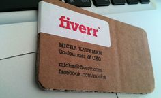 fiverr - cardboard