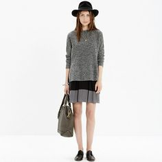 Madewell - Premiere Skirt in Colorblock