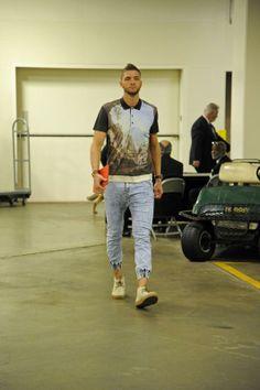 NBA playoffs fashion