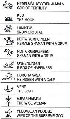 sami symbols and meanings Lappland, Finnish Tattoo, Shaman Symbols, Reindeer Craft, Symbols And Meanings, Wise Women, Symbolic Tattoos, Runes, Tattoo Inspiration