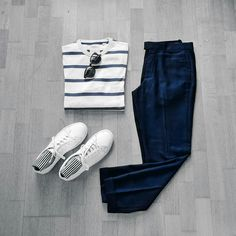 How To Wear Stripes This Summer - 9 Amazing Outfit Grids
