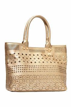 Big Buddha Fiji Bronze Handbag…GREAT DETAIL…GREAT HANDBAG!!