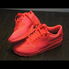 nike wmns air max 90 bianca nero dust solar red