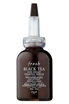 """10 Tea-Infused Products You Need In Your Beauty Routine #refinery29  http://www.refinery29.com/tea-beauty-products#slide-4  This serum reduces the appearance of fine lines while imparting a lasting glow. """"We turned specifically to black tea because it is the most oxidized of all teas harvested from the Camellia sinensis plant,"""" Glazman says. """"It's not only rich in color with deep flavor, but it has incredibly high levels of potent antioxidants that protect against damaging free radicals to…"""