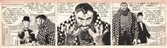 rocket-prose: Alex Raymond you god-damn showoff. Rip Kirby... rocket-prose:  Alex Raymond you god-damn showoff.  Rip Kirby daily from 12-1-1953.