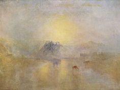 Turner, Joseph Mallord William: Norham Castle bei Sonnenaufgang (Norham Castle, Sunrise)