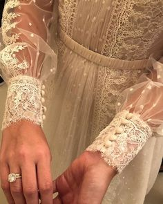 A-Line Jewel Neckline Illusion Long Sleeves Lace Wedding Dress Diana Wedding Dress, How To Dress For A Wedding, Rustic Wedding Dresses, Modest Wedding Dresses, Boho Wedding Dress, Wedding Bride, Bridal Dresses, Wedding Gowns, Lace Wedding