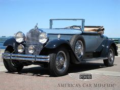 1930 Packard Eight 745 Convertible Coupe
