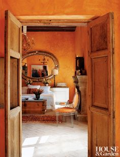Traditional Bedroom by Anne-Marie Midy in San Miguel de Allende, Mexico