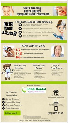 Teeth Grinding: Facts, Causes, Symptoms and Treatments http://www.bondidental.com.au/