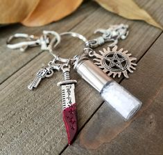 Supernatural protection keychain