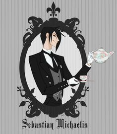 Sebastian Michaelis Black Butler - He looks like a Disney villian or something.....