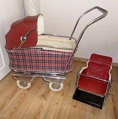 Nostalgie Kinderwagen 50er Vintage Hasa auch als Puppenwagen f. Rebornbaby ect.