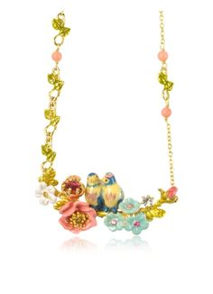Les Nereides Love Garden Necklace