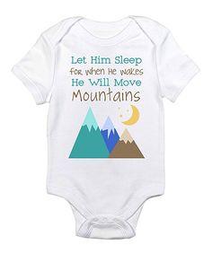 White 'Let Him Sleep' Bodysuit - Infant