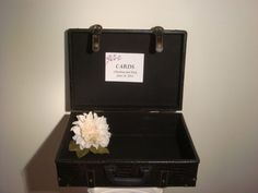 Vintage Inspired Suitcase/Wedding Card Trunk by BridalStock, $55.00