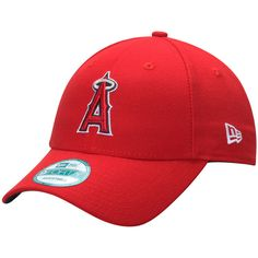340392f97a0 Los Angeles Angels New Era Men s League 9FORTY Adjustable Hat - Red Angels  Baseball
